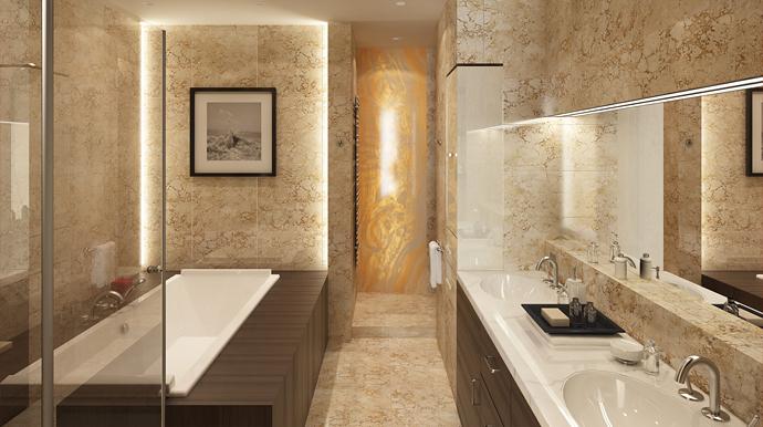 Badezimmer Oase